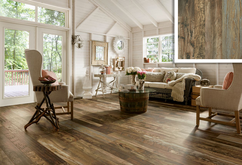 Vintage-Homestead-Laminate adds personality to your home