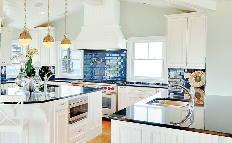 blue-backsplash personality to your home